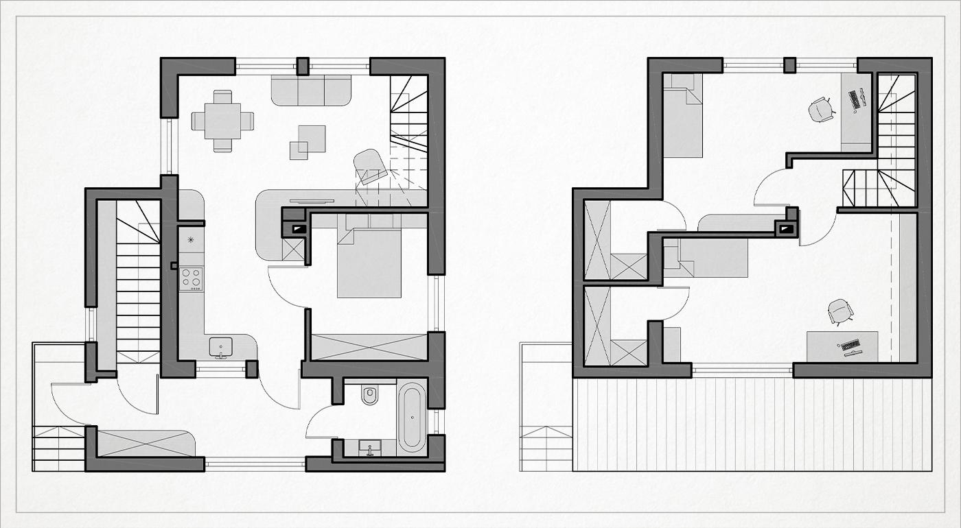 sodo namo rekonstrukcijos namo planas