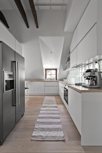 virtuves interjeras - palepe uzupyje #2