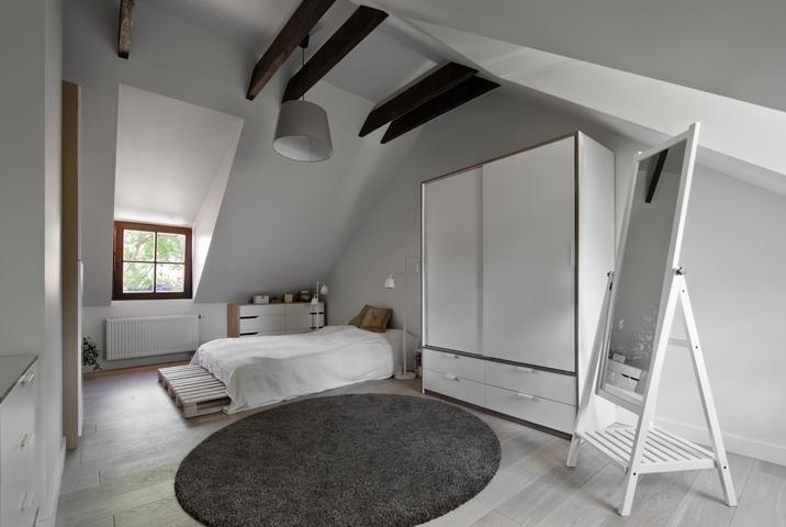 miegamojo interjeras - palepe uzupyje