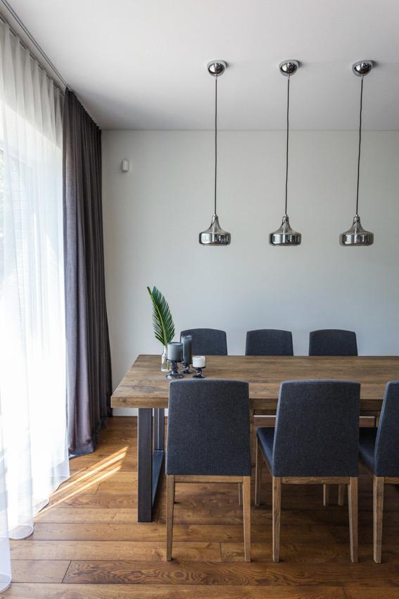 valgomojo interjero dizaino pavyzdys - namas pavilnyje