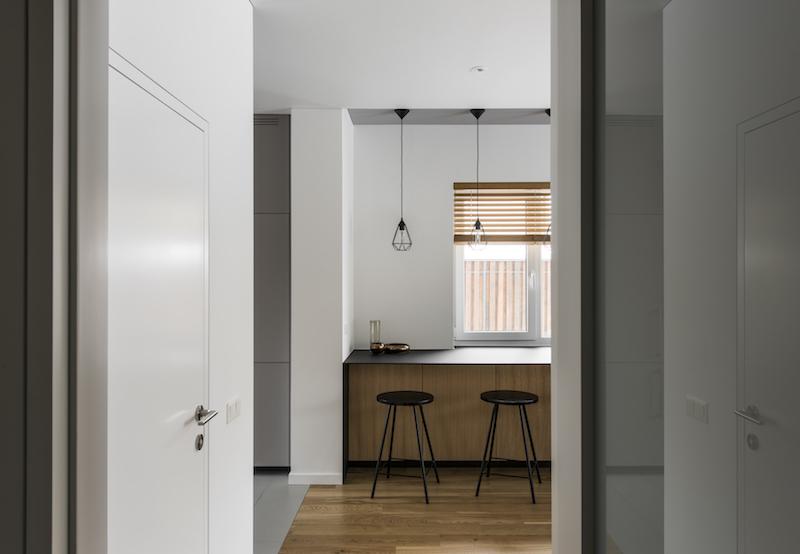 interjero dizaino pavyzdys - holas - kotedzas pavilnyje
