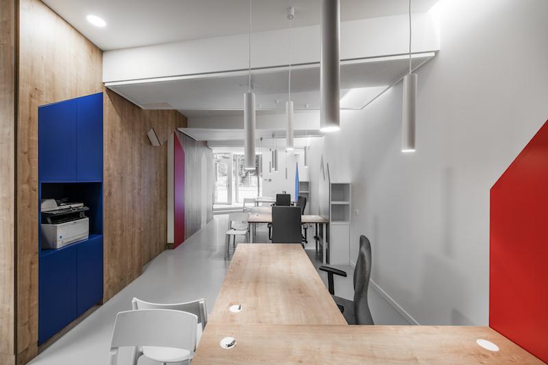 interjero dizainas - kelioniu agenturos biuras #9