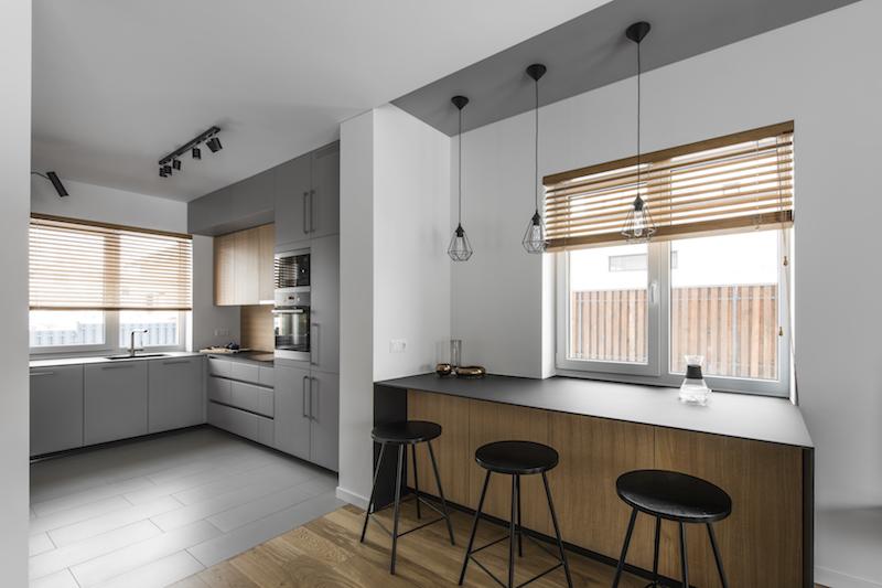 virtuves interjero dizainas - kotedzas pavilnyje #8