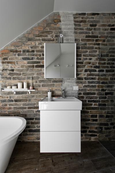 vonios interjero dizainas - palepe uzpuyje