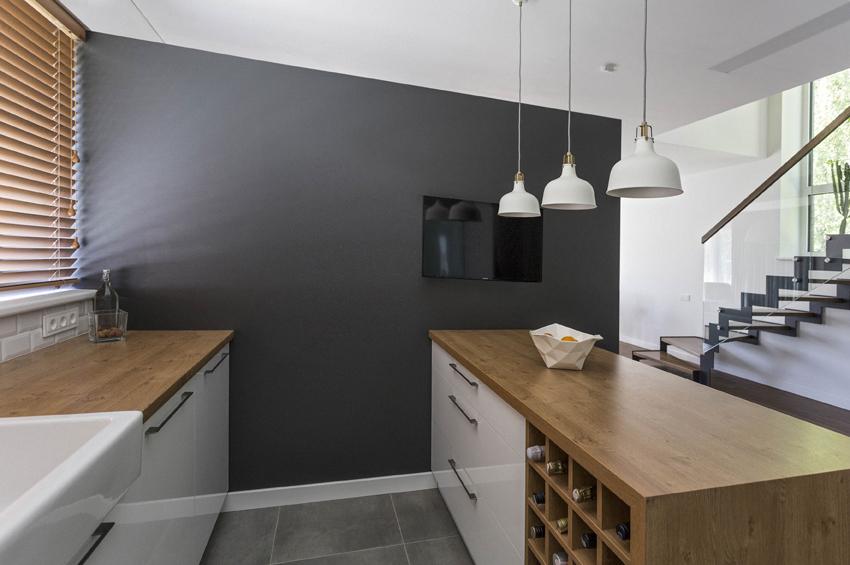 virtuves interjero dizainas #3 - namas pavilnyje