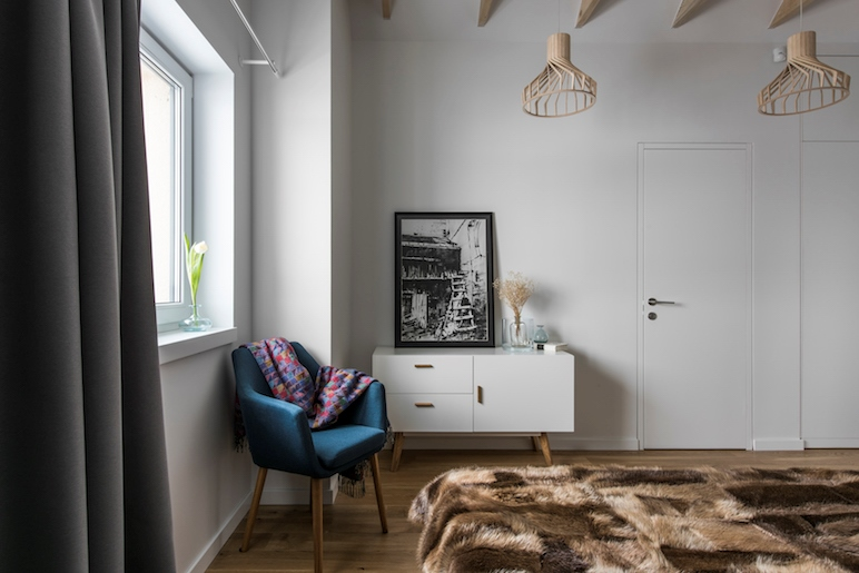 miegamojo interjeras - kotedzas pavilnyje #2