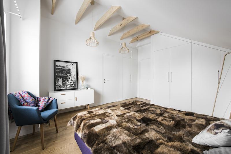 miegamojo interjeras - kotedzas pavilnyje #3