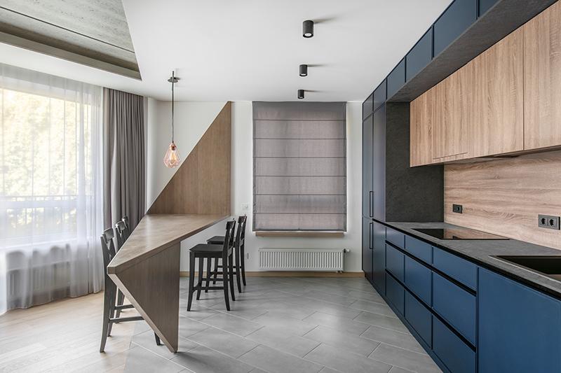 virtuves interjero dizainas - butas linkmenu ezeruose #3