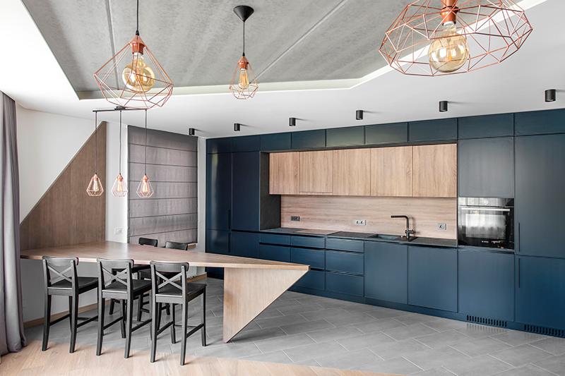 virtuves interjero dizainas - butas linkmenu ezeruose #4