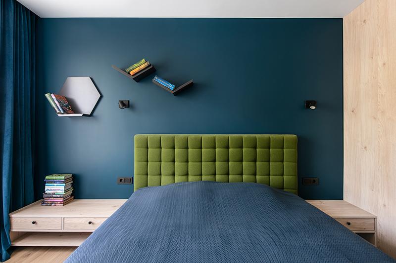 miegamojo interjeras - butas linkmenu ezeruose #2