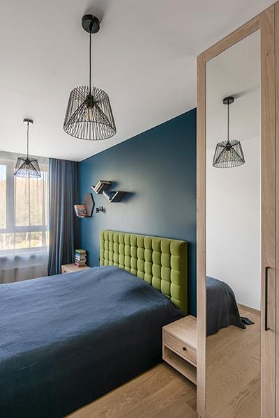 miegamojo interjeras - butas linkmenu ezeruose #3
