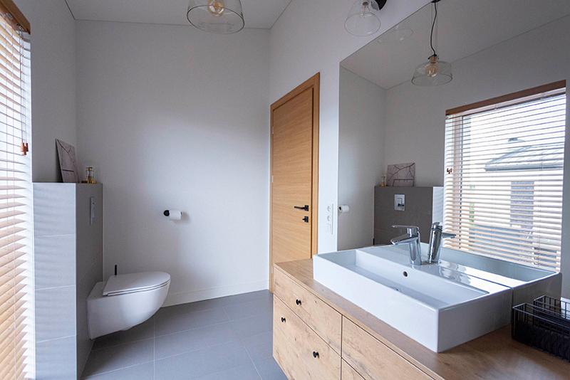 vonios interjeras - kotedzas kalnenuose #2