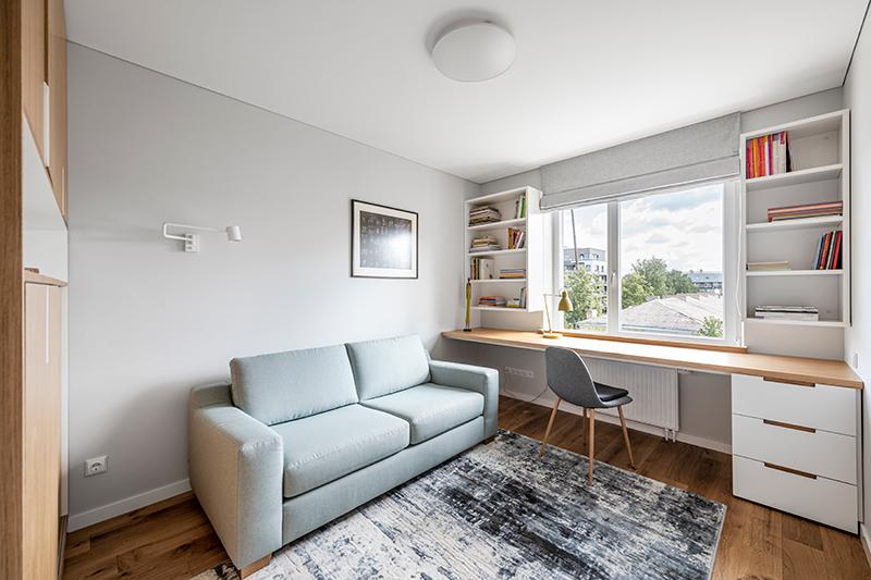 darbo kambario interjero dizainas - butas centre