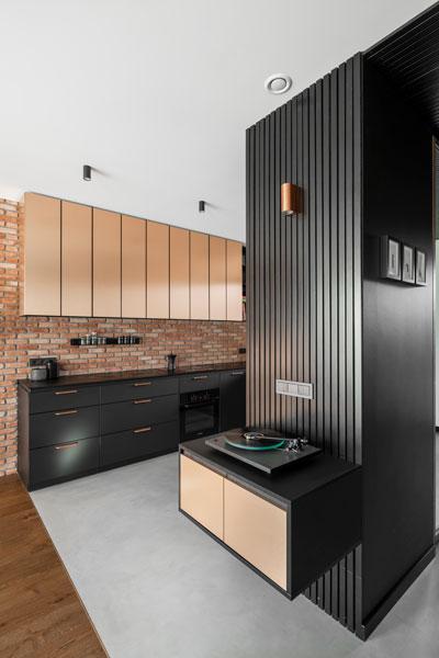 virtuves interjero dizainas - kotedzas pavilnyje #5