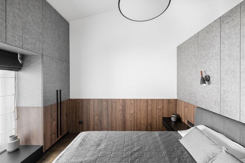 miegamojo interjero dizainas - kotedzas baltupiuose #3