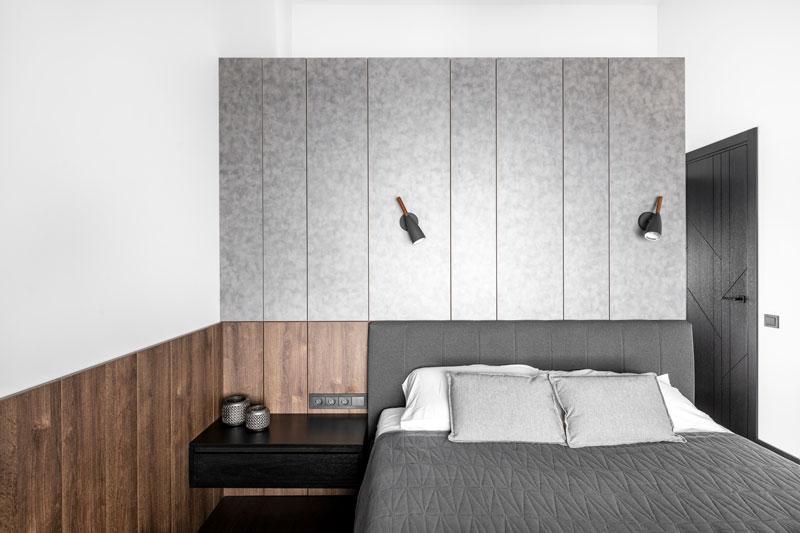 miegamojo interjero dizainas - kotedzas baltupiuose #2