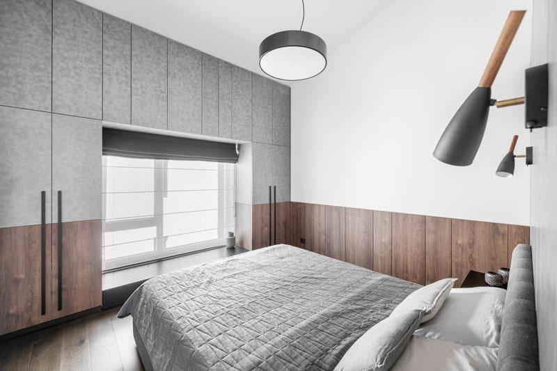 miegamojo interjero dizainas - kotedzas baltupiuose