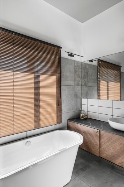 vonios interjero dizainas - kotedzas baltupiuose #6