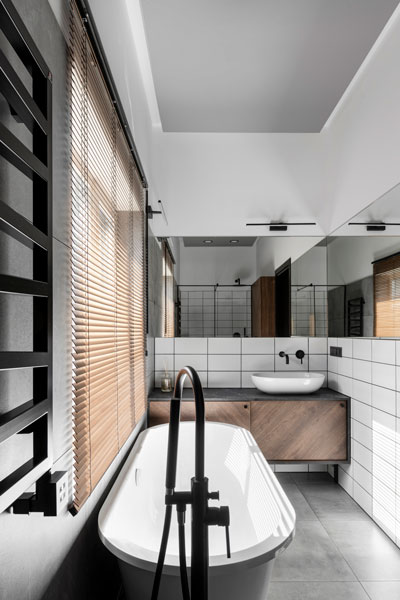vonios interjero dizainas - kotedzas baltupiuose #5