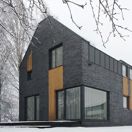 gyvenamojo namo pavilnyje architekturinis projektas