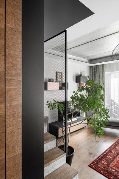 interjero dizaino pavyzdys- laiptai - kotedzas pavilnyje #5
