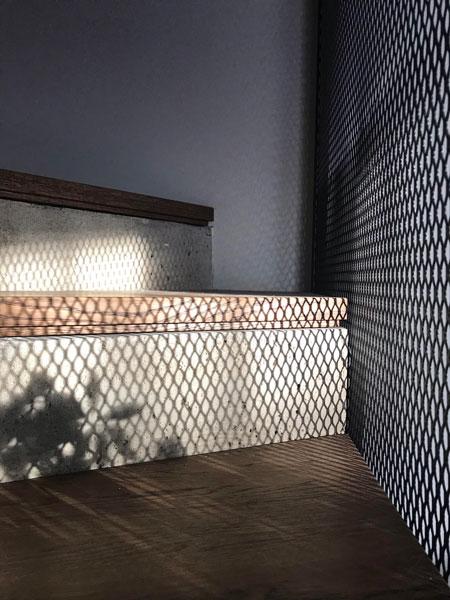 interjero dizaino pavyzdys- laiptai - kotedzas pavilnyje