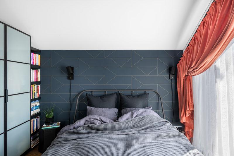miegamojo interjero dizainas - kotedzas pavilnyje #2
