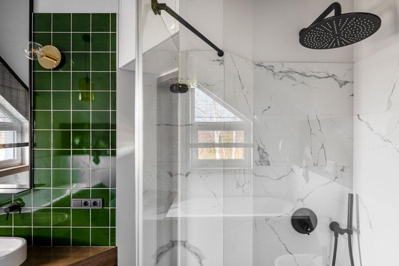 vonios interjero dizaino pavyzdys - kotedzas pavilnyje #3